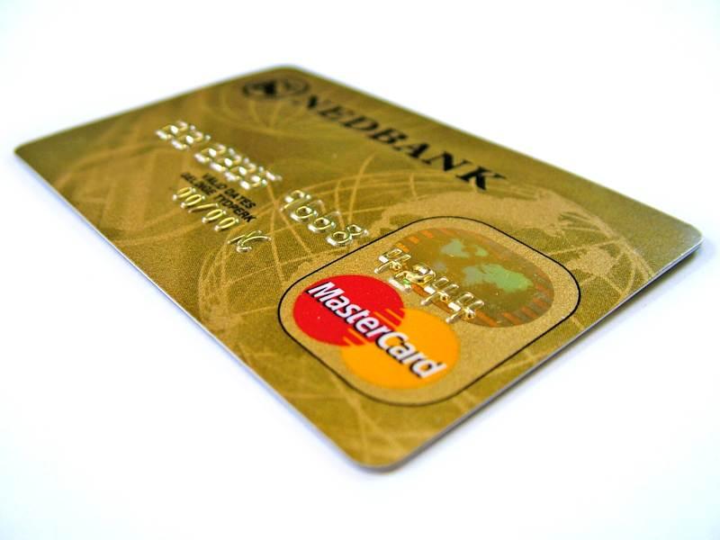 Классическая дебетовая карта MasterCard